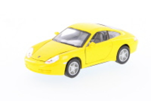 Porsche 911 Carrera Hard Top, Yellow - Superior 5747D - 1/30 scale diecast model car (Brand New, but NOT IN BOX)