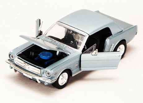 1964 1/2 Ford Mustang, White - Showcasts 73273 - 1/24 scale Diecast Model Toy Car