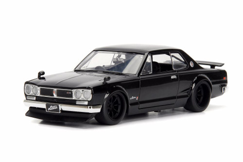 1971 Nissan Skyline 2000 GT-R (Brian O'Conner), Fast Five - Jada 99686 - 1/24 Scale Diecast Model Toy Car