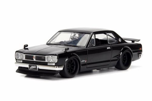 1971 Nissan Skyline 2000 GT-R (Brian O'Conner), Fast Five - Jada 99686 - 1/24 Scale Diecast Model Toy Car