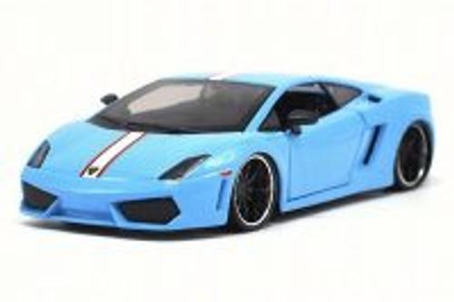 Lamborghini Gallardo LP 560-4, Light Blue - Maisto 31352BU - 1/24 Scale Diecast Model Toy Car