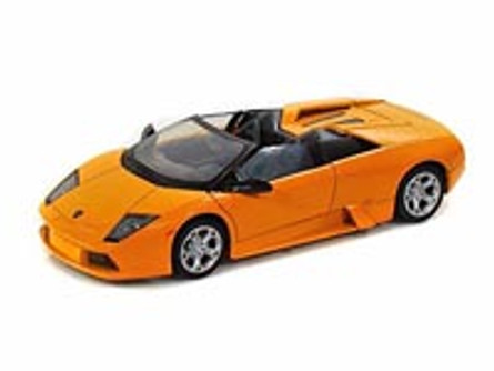 Lamborghini Murcielago Roadster, Orange - Showcasts 73316 - 1/24 scale Diecast Model Toy Car