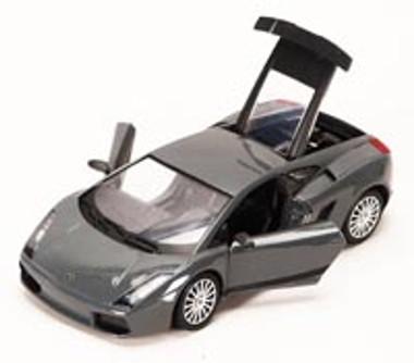 Lamborghini Gallardo Superleggera, Gray - Showcasts 73346 - 1/24 scale Diecast Model Toy Car (Brand New, but NOT IN BOX)