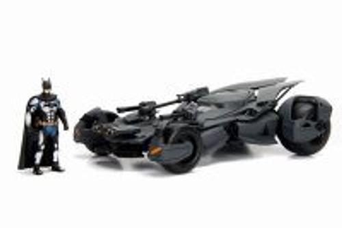 2017 Batmobile Justice League, Black - Jada 99232 - 1/24 Scale Diecast Model Toy Car