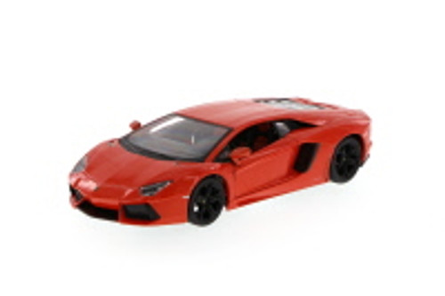 Lamborghini Aventador LP700-4, Orange - Maisto 34210 - 1/24 Scale Diecast Model Toy Car (Brand New, but NOT IN BOX)