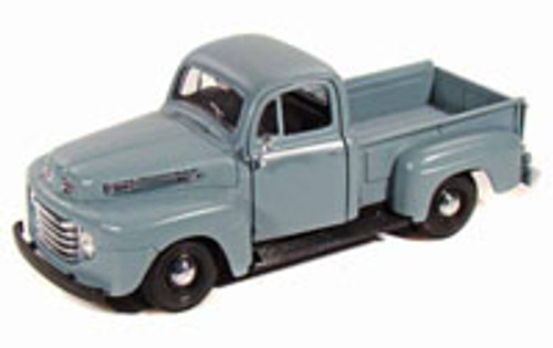 1948 Ford F-1 Pickup Truck, Blue - Maisto 34935 - 1/24 Scale Diecast Model Toy Car (Brand New, but NOT IN BOX)