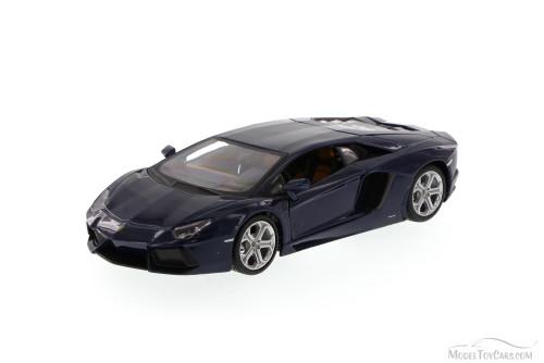 Lamborghini Aventador LP700-4, Blue - Maisto 34210 - 1/24 Scale Diecast Model Toy Car (Brand New, but NOT IN BOX)