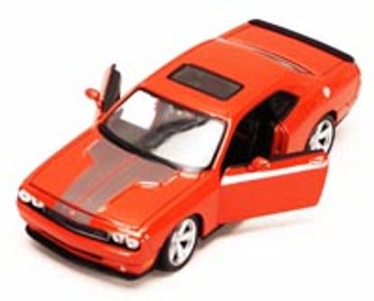 Dodge Challenger SRT, Orange - Maisto 34280 - 1/24 Scale Diecast Model Toy Car (Brand New, but NOT IN BOX)