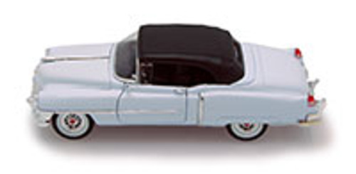1953 Cadillac Eldorado, White - Welly 22414 - 1/24 scale Diecast Model Toy Car