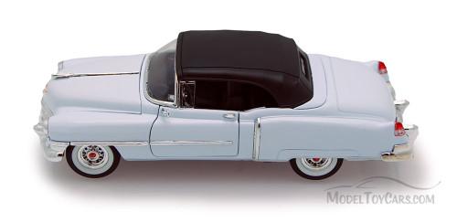 1953 Cadillac Eldorado, White - Welly 22414 - 1/24 scale Diecast Model Toy Car