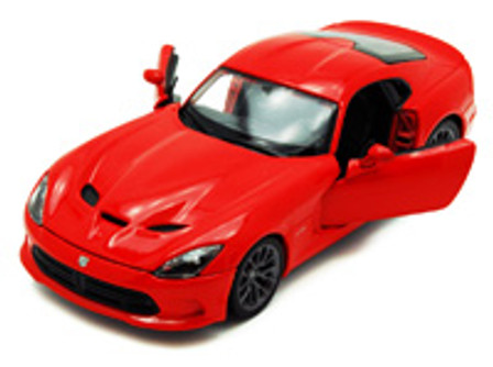 Dodge SRT Viper GTS, Red - Maisto 34271 - 1/24 Scale Diecast Model Toy Car (Brand New, but NOT IN BOX)