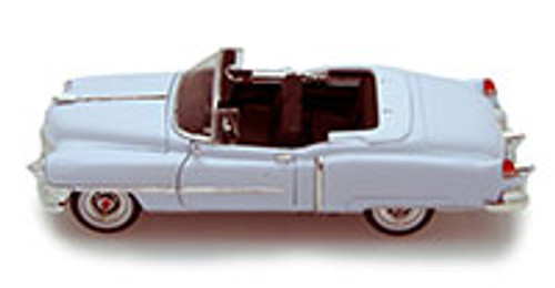 1953 Cadillac Eldorado Convertible, White - Welly 22414 - 1/24 scale Diecast Model Toy Car