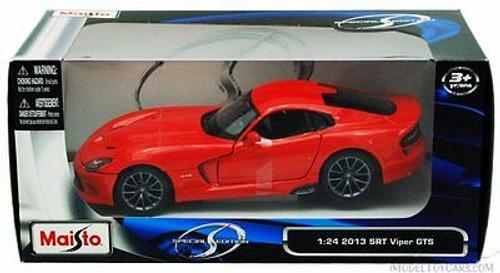 2013 Dodge SRT Viper GTS, Red - Maisto 31271 - 1/24 scale diecast model car