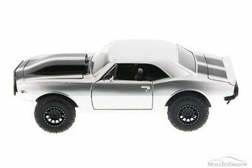 Fast & Furious Roman's Chevy Camaro Off Road, Silver - Jada Toys 97169 - 1/24 Scale Diecast Model Toy Car (Brand New, but NOT IN BOX)