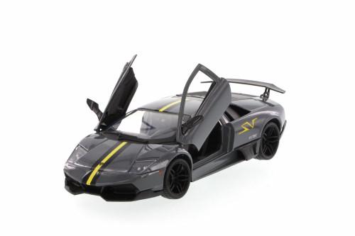 Lamborghini Murcielago LP670-4 SV, Dark Gray - Motormax 73350SV - 1/24 Scale Diecast Model Toy Car