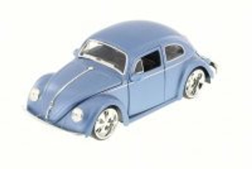 1959 Volkswagen Beetle, Blue - Jada 97489LJ - 1/24 Scale Diecast Model Toy Car