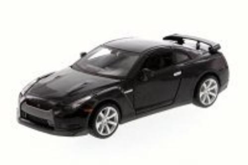 Nissan GT-R, Black - Maisto 31294 - 1/24 Scale Diecast Model Toy Car