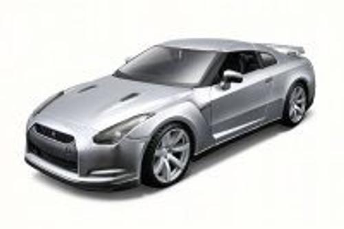 Nissan GT-R, Silver - Maisto 31294 - 1/24 Scale Diecast Model Toy Car