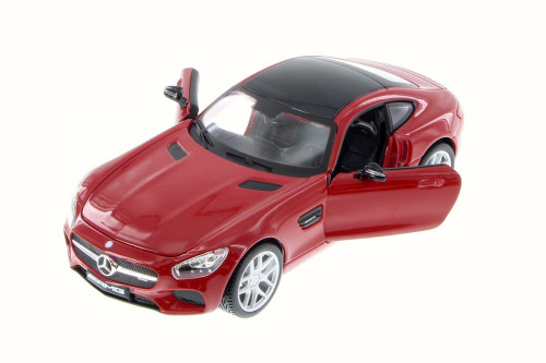 Mercedes-Benz AMG GT, Red - Maisto 34134 - 1/24 Scale Diecast Model Toy Car (Brand New, but NOT IN BOX)
