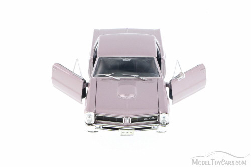 1965 Pontiac GTO, Lavendar - Welly 22092 - 1/24 Scale Diecast Model Toy Car (Brand New, but NOT IN BOX)