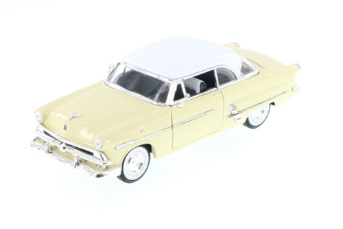1953 Ford Victoria, Cream - Welly 22093 - 1/24 scale Diecast Model Toy Car (Brand New, but NOT IN BOX)