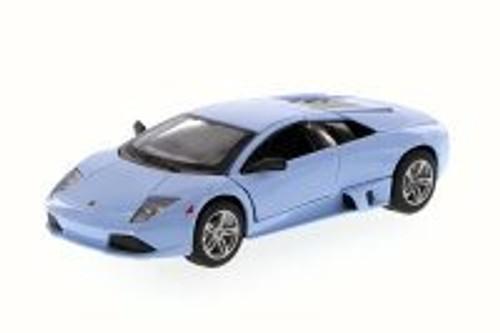 Lamborghini Murcielago LP640, Light Blue - Maisto 31292 - 1/24 Scale Diecast Model Toy Car