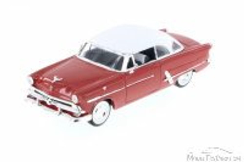 1953 Ford Victoria, Rust - Welly 22093 - 1/24 scale Diecast Model Toy Car (Brand New, but NOT IN BOX)