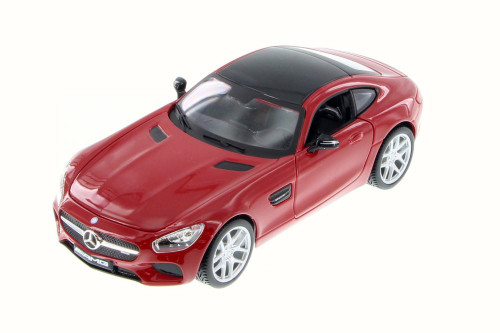 Mercedes-Benz AMG GT, Red - Maisto 31134R - 1/24 Scale Diecast Model Toy Car