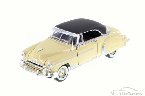 1950 Chevrolet Bel Air, Cream - Motor Max 73268L - 1/24 Scale Diecast Model Toy Car