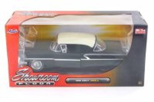 1958 Chevy Impala SS Showroom Floor, Black - Jada 98895-MJ - 1/24 Scale Diecast Model Toy Car