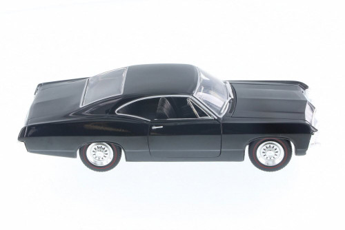 1967 Chevy Impala SS Hard Top, Black - Jada 98912-MJ - 1/24 Scale Diecast Model Toy Car
