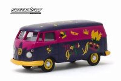 Volkswagen Type 2 Panel Van, Mardi Gras 2020 - Greenlight 30126/48 - 1/64 scale Diecast Model Toy Car