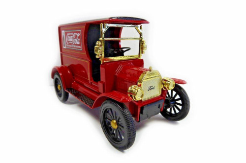 1917 Ford Model T Cargo Van, Coca-Cola - Motorcity Classics 424917 - 1/24 Scale Diecast Model Toy Car
