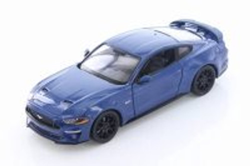 2018 Ford Mustang GT Hard Top, Blue - Showcasts 79352BU - 1/24 Scale Diecast Model Toy Car