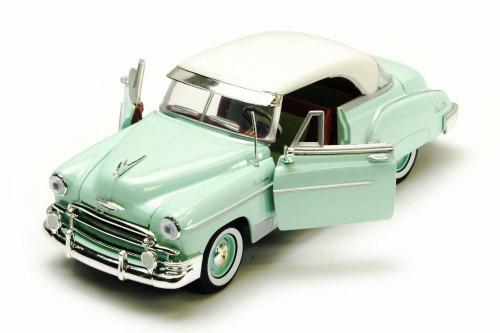 1950 Chevy Bel Air, Surf Green - Motor Max 73268/16D - 1/24 Scale Diecast Model Toy Car