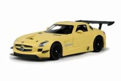 Mercedes- Benz SLS AMG Hard Top, Gold - Motormax 79501 - 1/24 scale Diecast Model Toy Car
