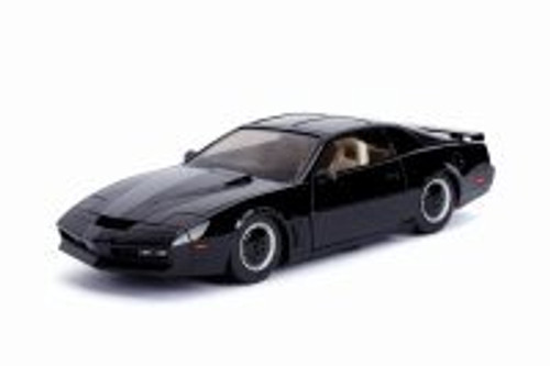 1982 Pontiac Firebird Trans Am with lights, Knight Rider K.I.T.T. - Jada 30086 - 1/24 scale Diecast Model Toy Car