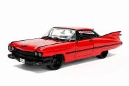 "1959 Cadillac Coupe Devilleâ""¢ Hard Top, Red - Jada 99991DP1 - 1/24 Scale Diecast Model Toy Car"