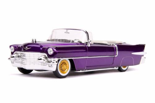 1956 Cadillac Eldorado Convertible, Elvis Presley - Jada 30703 - 1/24 scale Diecast Model Toy Car