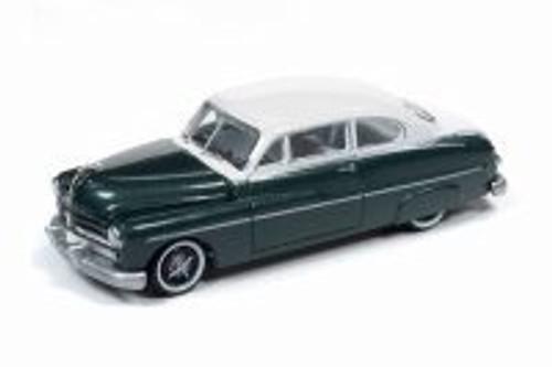1949 Mercury Sedan, Banff Green and White - Round 2 RC010/48B - 1/64 scale Diecast Model Toy Car