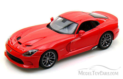Dodge SRT Viper GTS, Red - Maisto 31128 - 1/18 Scale Diecast Model Toy Car