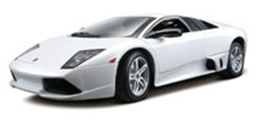 Lamborghini Murcielago LP640, White - Maisto Special Edition 31148 - 1/18 Scale Diecast Model Toy Car