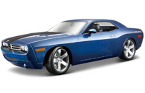 Dodge Challenger Concept, Blue - Maisto Premiere 36138 - 1/18 Scale Diecast Model Toy Car