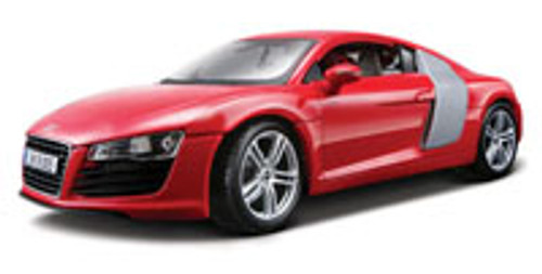 Audi R8, Red - Maisto Premiere 36143 - 1/18 Scale Diecast Model Toy Car