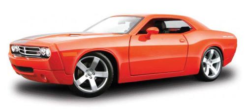 Dodge Challenger Concept, Orange - Maisto Premiere 36138 - 1/18 Scale Diecast Model Toy Car