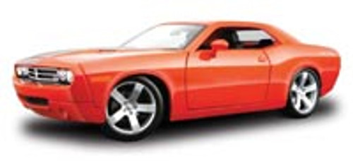 Dodge Challenger Concept, Orange - Maisto Premiere 36138 - 1/18 Scale Diecast Model Toy Car