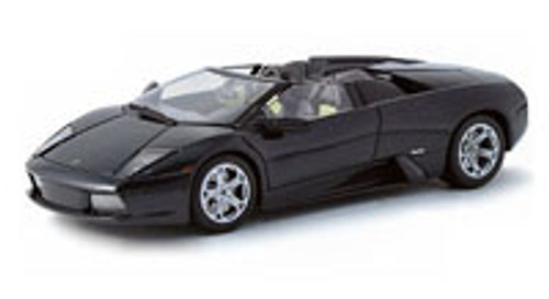 Lamborghini Murcielago Roadster Convertible, Black - Maisto 31636 - 1/18 Scale Diecast Model Toy Car