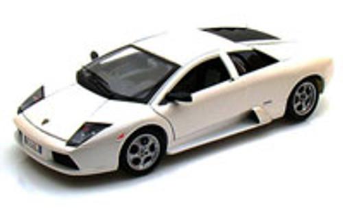 Lamborghini Murcielago, White - Bburago 12022 - 1/18 scale Diecast Model Toy Car