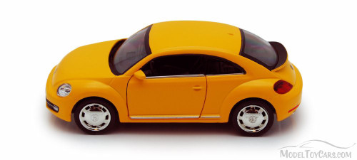 2012 Volkswagen Beetle, Orange - Showcasts 555023M - 5Collectible Model Toy Car