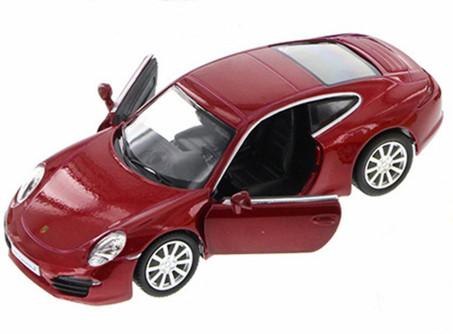 Porsche 911 Carrera S, Red - Uni-Fortune 555010Z - 5Collectible Model Toy Car